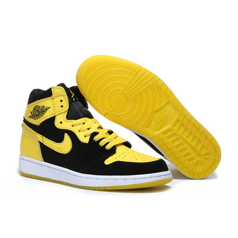 "5fc0cab922e8 Best Discount Air Jordan 1 Mid ""New Love"" Black Varsity Maize-White ..."