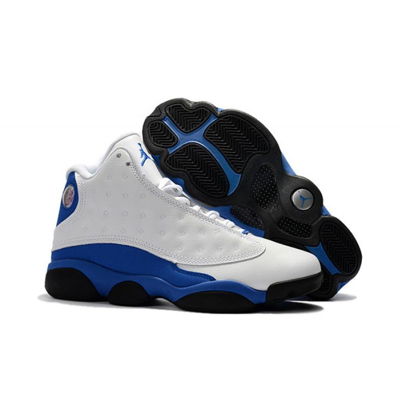 "2427341df59e7c Air Jordan 13 ""Hyper Royal"" White Hyper Royal-Black 414571-117 Best ..."