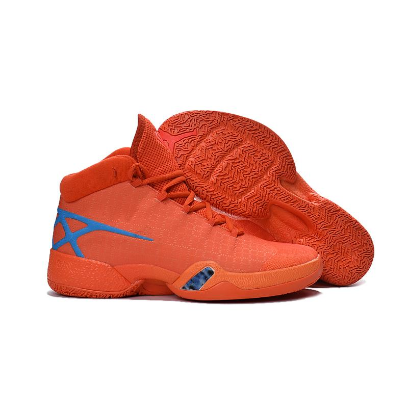 767e4fca26000 New Air Jordan 30 XXX Playoffs Orange Blue PE Best For Sale, Price ...