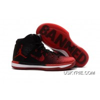 "the best attitude 5bf05 4f052 Air Jordan XXX1 ""Banned"" Black University Red-White Best Authentic"