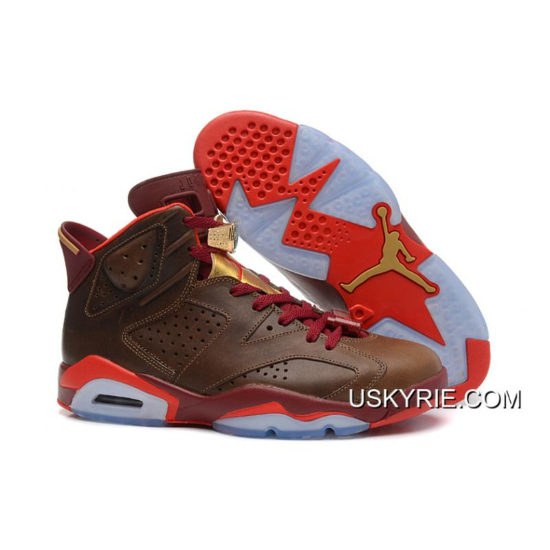 7f67c9c9d9e038 ... promo code for new air jordan 6 retro championship cigar best outlet  eed45 72a45