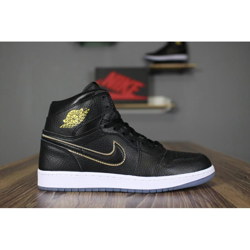 "check out 624f3 09b4c Best New Style Air Jordan 1 Retro High OG ""City Of Flight"" Black  ..."