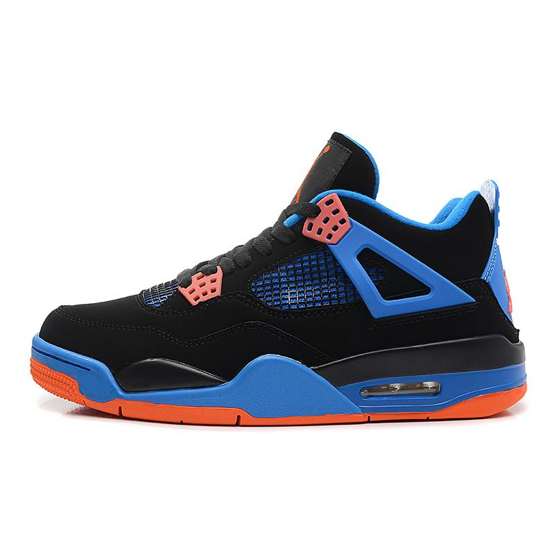 "new product 778d5 cb786 ... Best Top Deals New Air Jordan 4 Retro ""Cavs"" Black Orange Blaze- ..."