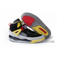 "New Jordan Spizike ""3M"" Black Challenge Red-Metallic Silver-Tour Yellow 2e6dd7e74"