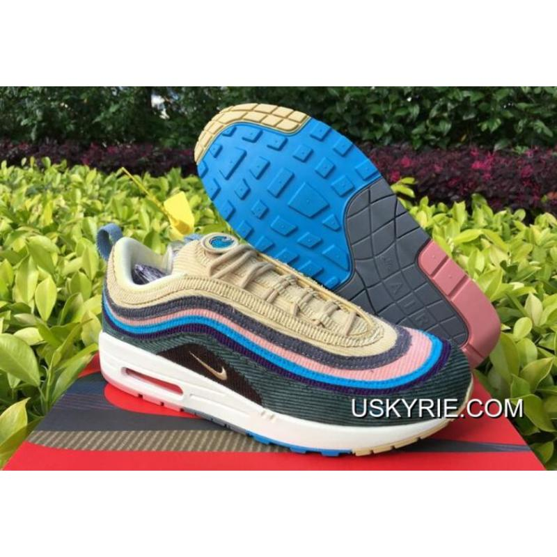 "dc252c7688 Best Super Deals Nike Air Max 1/97 ""Sean Wotherspoon"" Light Blue Fury ..."