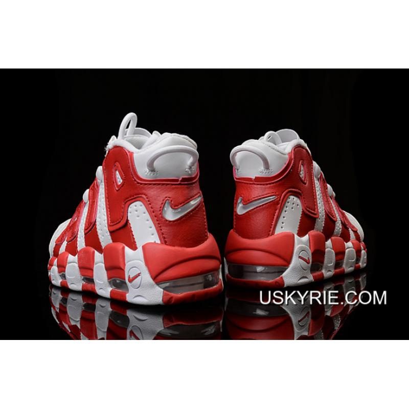 d1100f4a953b ... Nike Air More Uptempo White Gym Red Best Free Shipping ...
