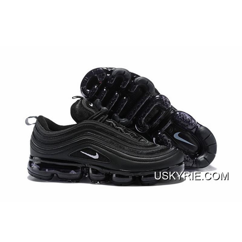 "Women/Men Nike Air VaporMax 97 ""Black"