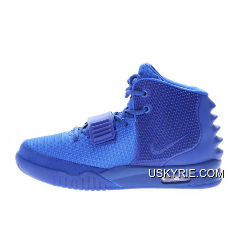 "a7069ea50a7e6 Nike Air Yeezy 2 ""Gamma Blue"" Glow In The Dark Best Discount ..."