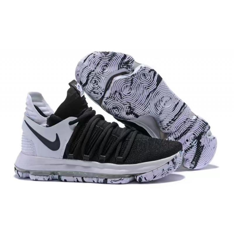 e6f9df2e144 Best Free Shipping Nike KD 10 Black And White ...