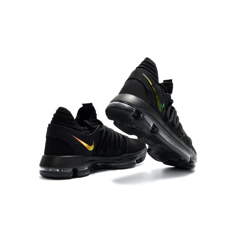 "pretty nice db8a4 32956 ... Best Top Deals Nike KD 10 ""PK80″ Black Metallic Gold ..."