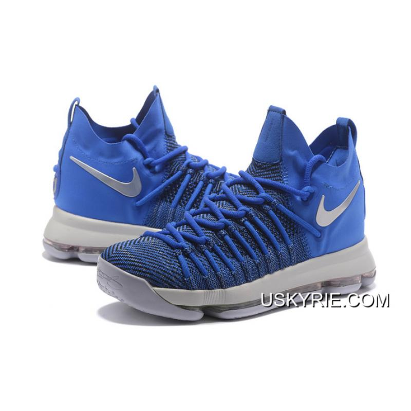 size 40 a715d 9adb9 ... Best Top Deals Nike Zoom KD 9 Elite Game Royal Silver Basketball Shoes  ...