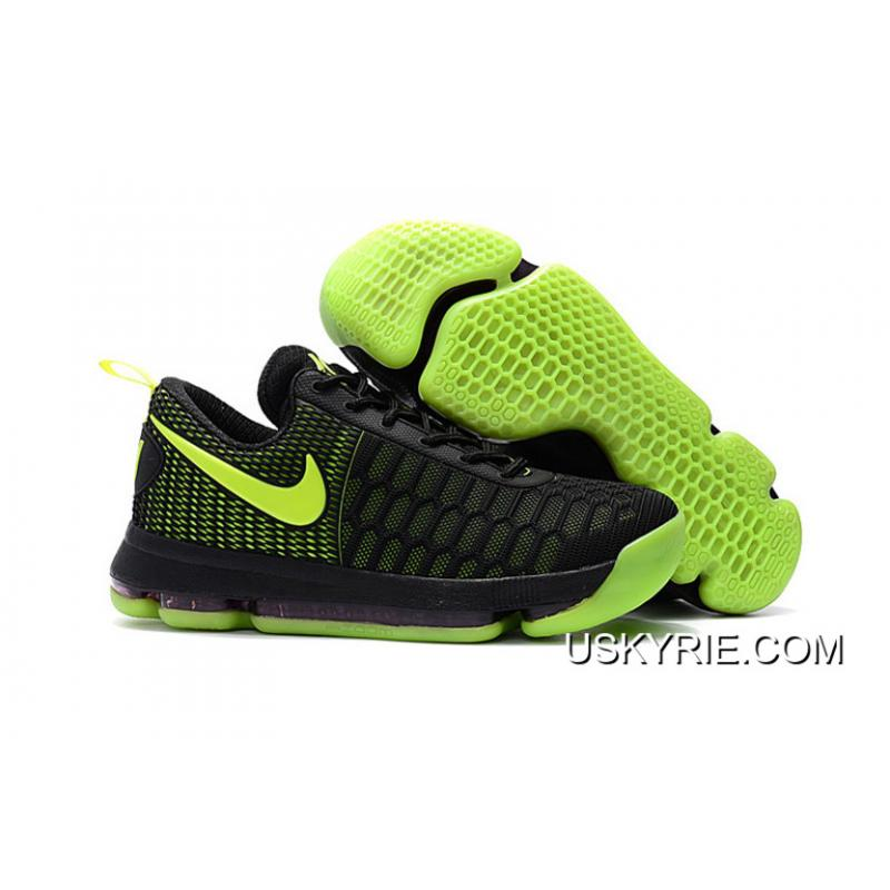 the best attitude ff6dd 00994 Best New Release Nike KD 9 Black Volt Basketball Shoes ...