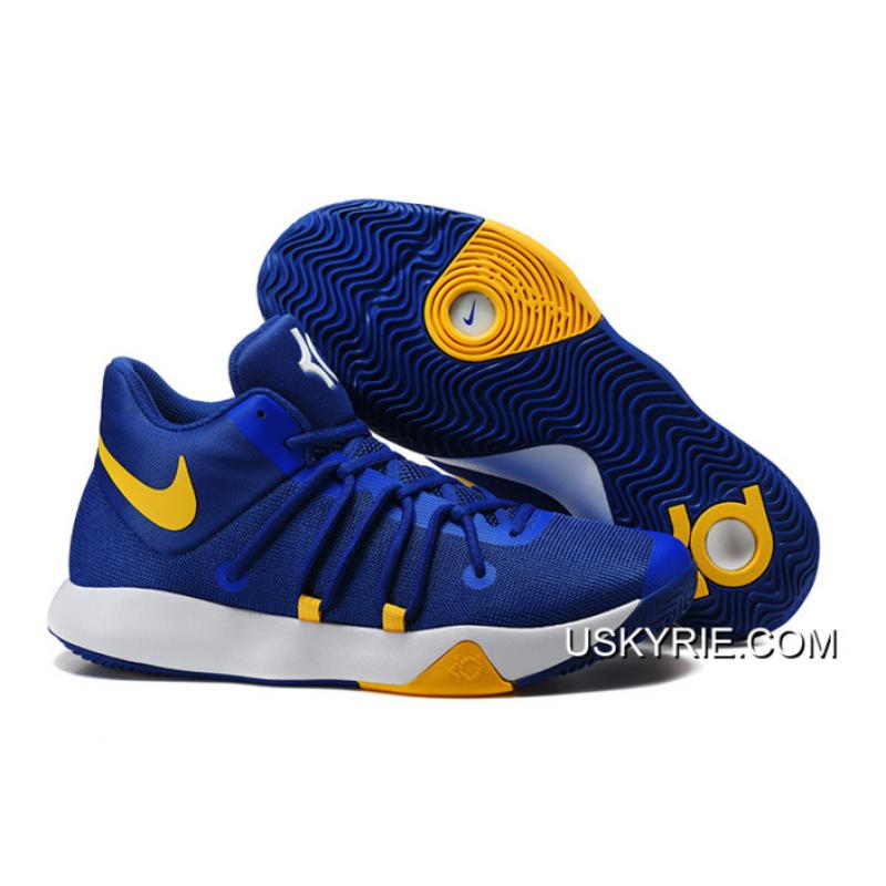 kd shoes blue and yellow Kevin Durant
