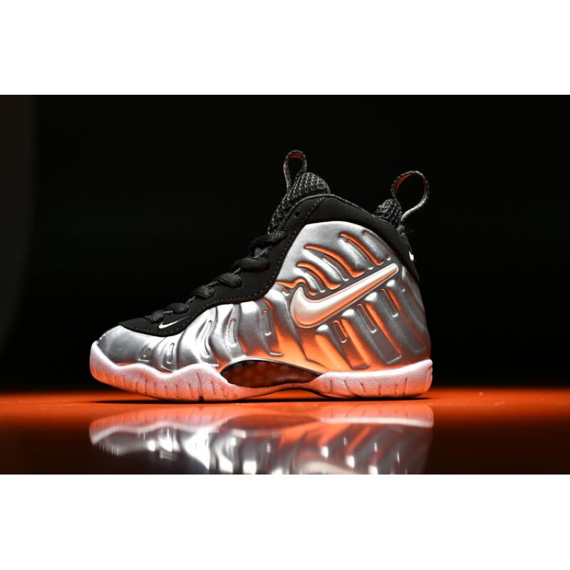 "a4b3df37239 Best New Release Kids Nike Air Foamposite Pro ""Silver Surfer"" ..."