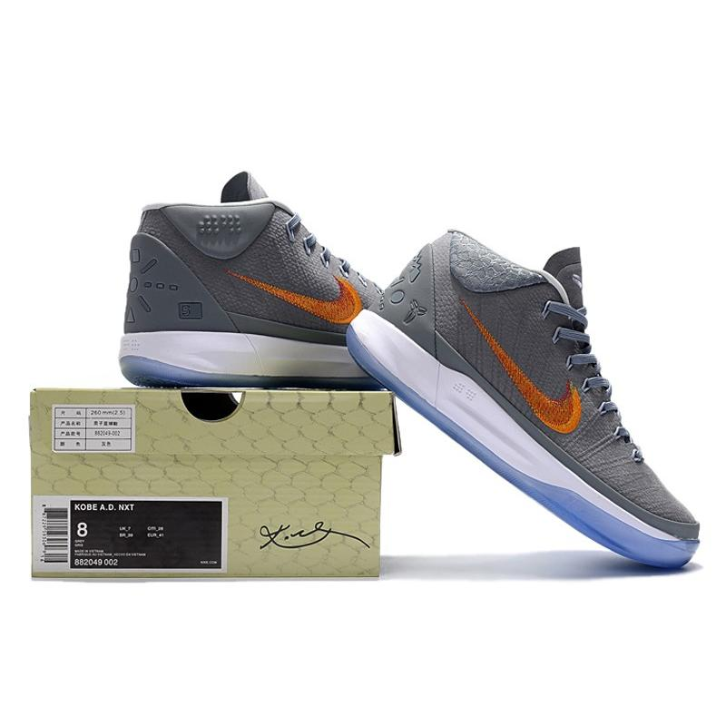 839667a66911 ... france nike kobe a.d. mid grey snake chrome habanero red circuit orange  best cd8ac 2454d ...