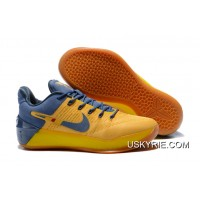 "sports shoes 5df80 02203 Best For Sale Nike Kobe A.D. ""Bruce Lee"" Yellow Navy Blue"