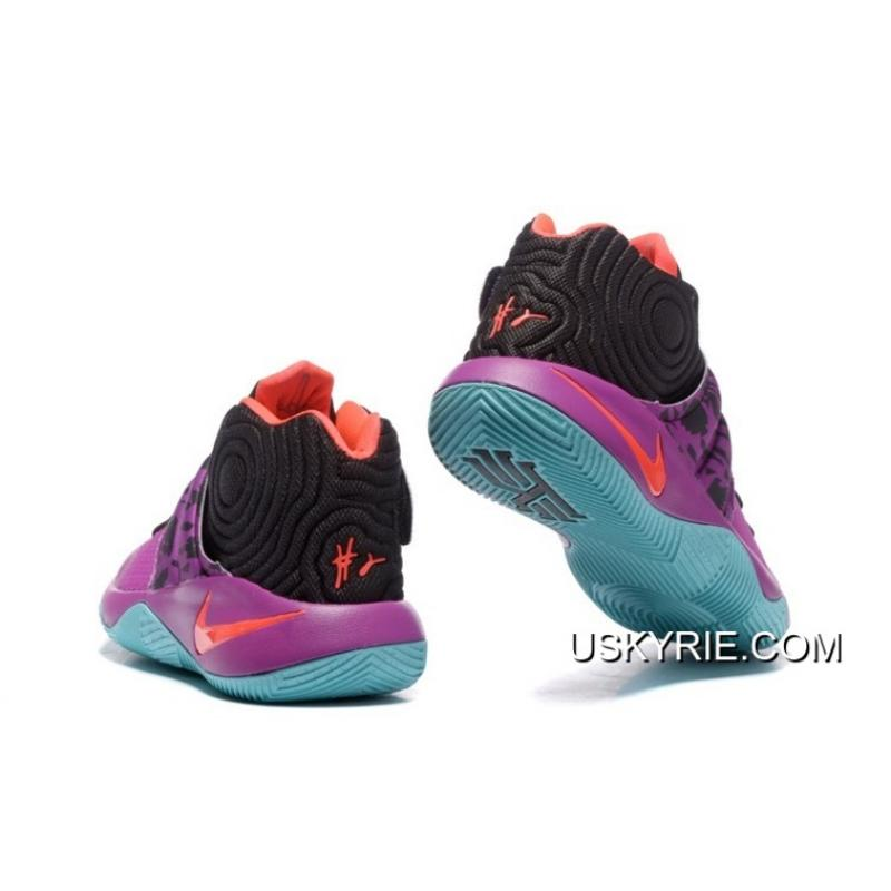 """the latest fa6d8 88ce2 ... Nike Kyrie 2 """"Easter"""" PurpleMint-Red-Black Best Outlet"""