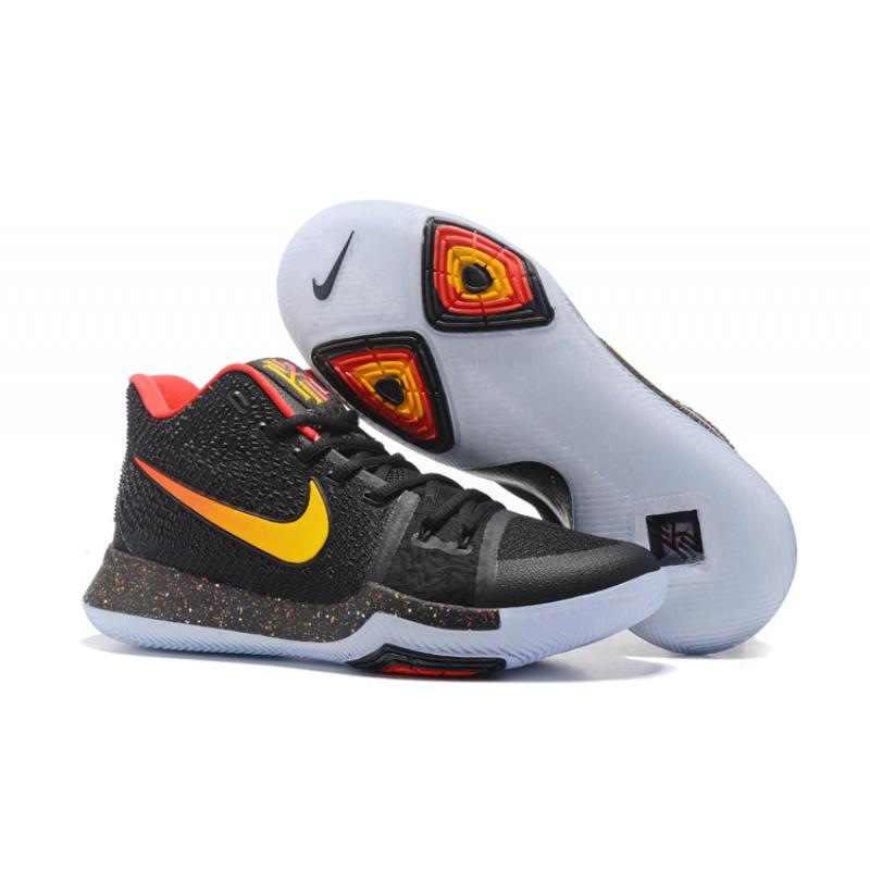 b38ca4d3d81a Best Copuon Nike Kyrie 3 Black Red Yellow PE ...