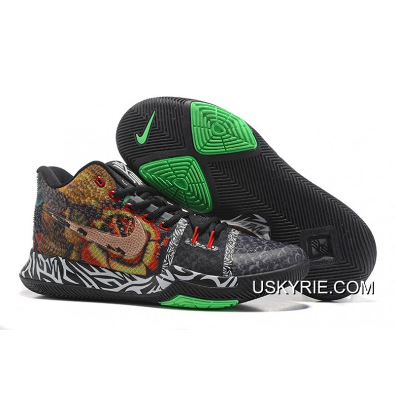 "new arrival d4f2f e1e12 Best For Sale Nike Kyrie 3 ""Rattlesnake"" Basketball Shoes ..."