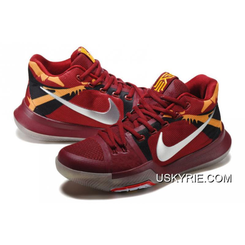 kyrie 3 red yellow