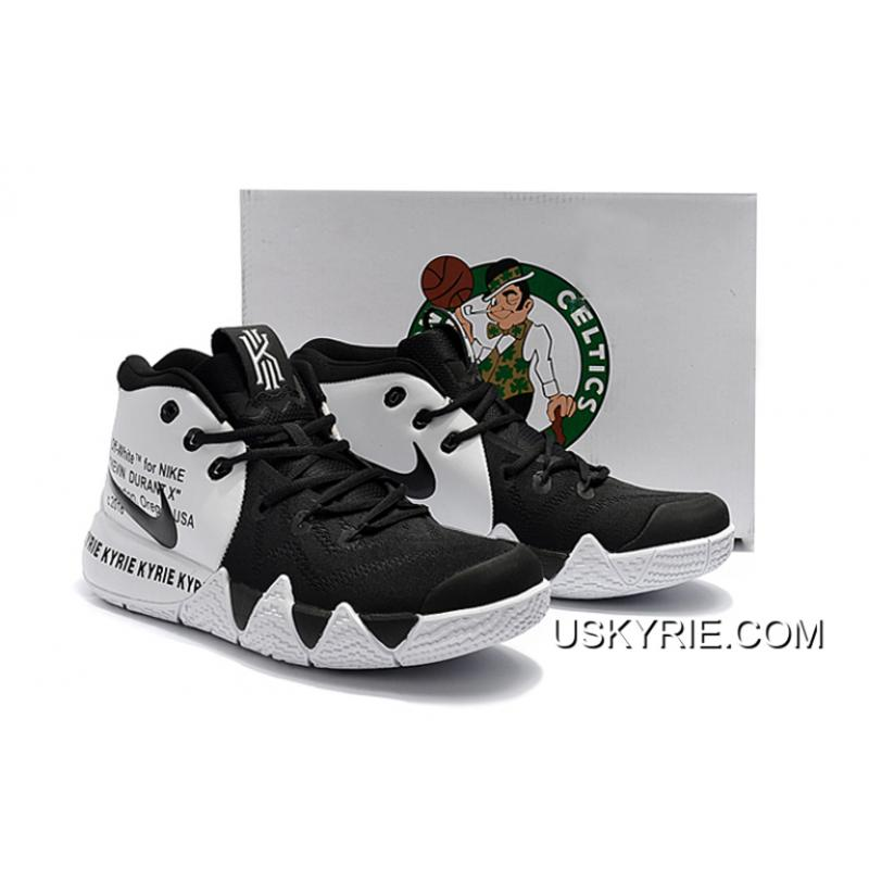 online retailer 60bae 83514 Best Super Deals Off-White X Nike Kyrie 4 Black White, Price: $93.38 ...