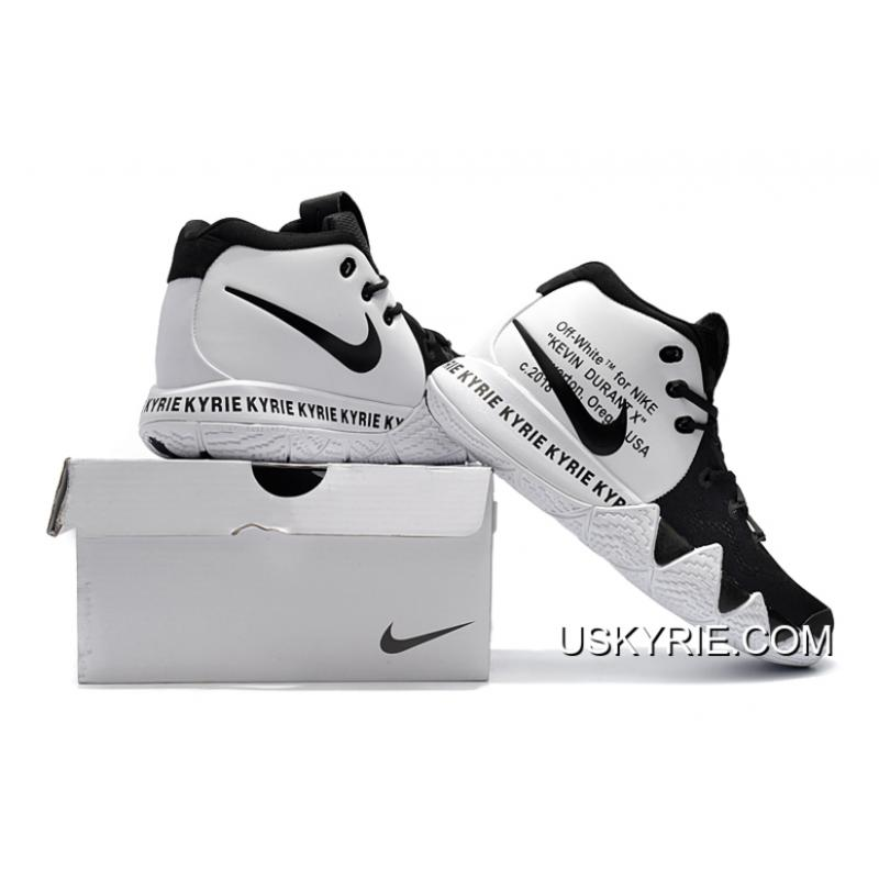 17acf3c595e ... Best Super Deals Off-White X Nike Kyrie 4 Black White