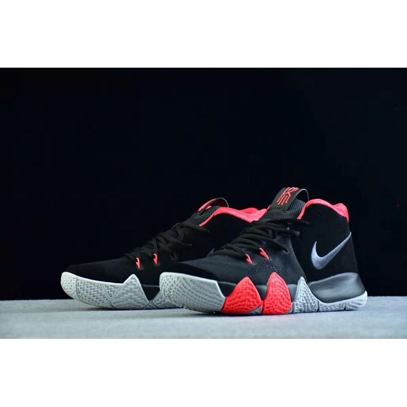 2daffad4ff98 ... Nike Kyrie 4 Black-Solar Red Best For Sale ...