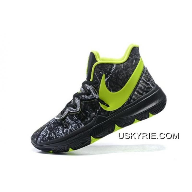 "buy popular ce3c1 73434 Discount Taco X Nike Kyrie 5 ""Celtics"" PE Black Green ..."