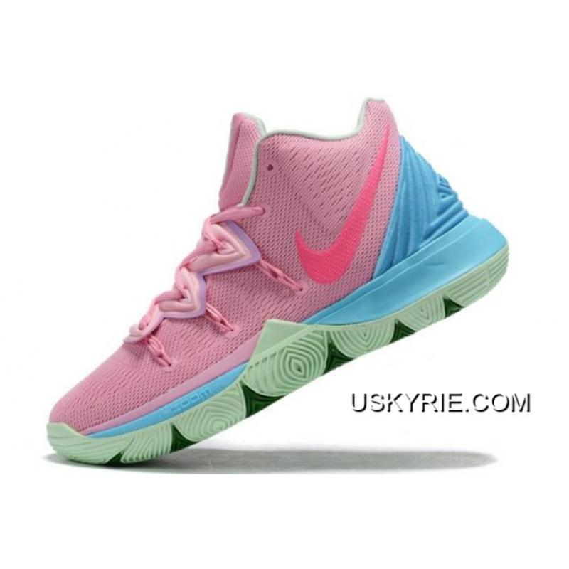 Buy Now Nike Kyrie 5 Pink/Blue-Green
