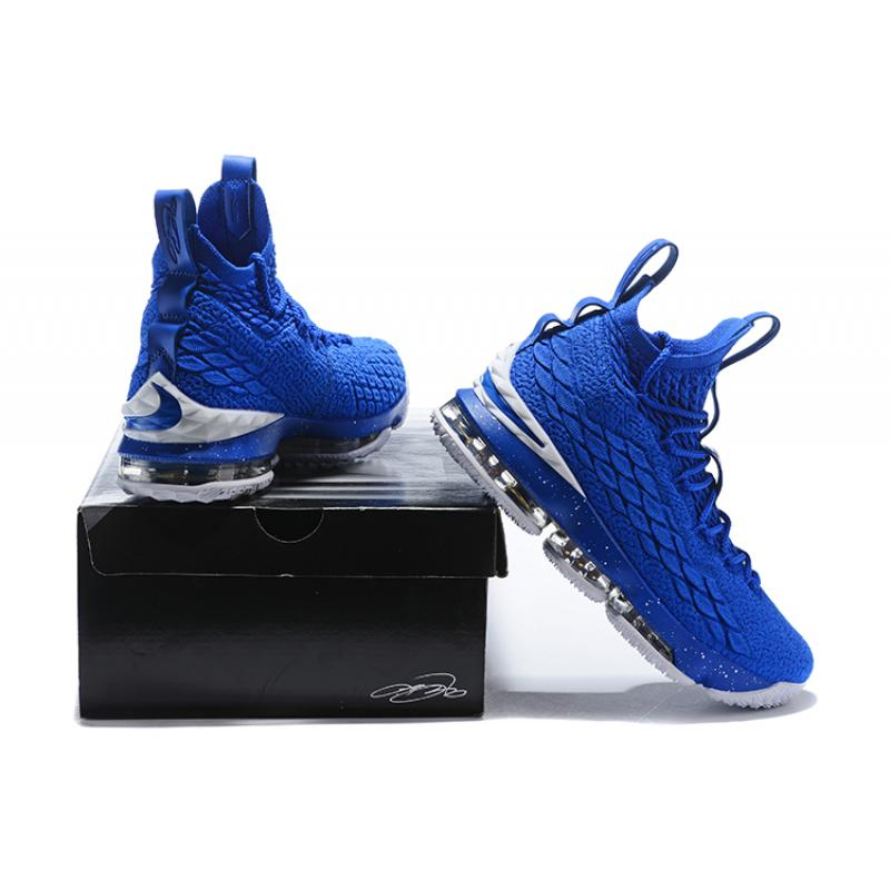 f0fa3a8108e77 ... Super Deals Nike LeBron 15 Blue White ...