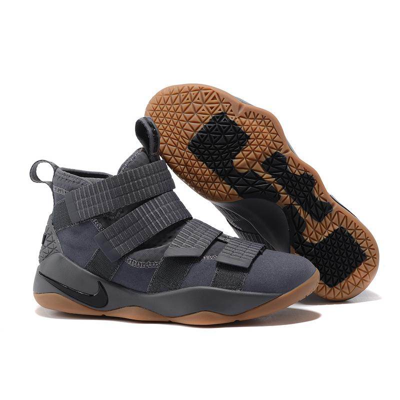 "147f1bb21c04 Nike LeBron Soldier 11 ""Grey Gum"" Best New Release ..."