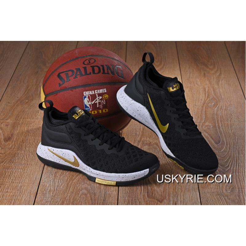 new arrival aac0d 8a37c Nike Lebron Witness 2 Flyknit Black Gold Best Online ...