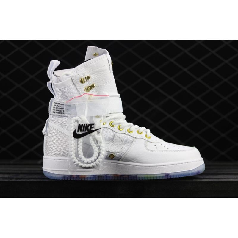"Best Free Shipping Nike SF-AF1 Mid ""Lunar New Year"" White Habanero ... 4adc3d7ff"