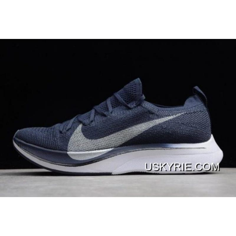 702e7b9b51231 Women Men New Year Deals Nike Vapor 4% Flyknit Obsidian Metallic Silver  AJ3857 ...