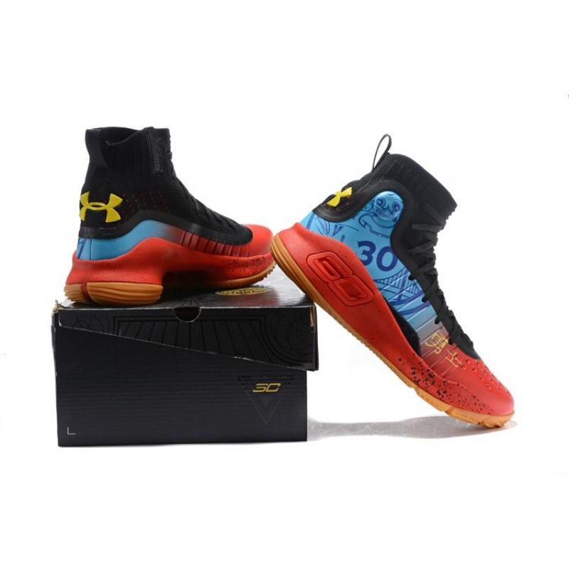 """3ea676f4bc45 ... Best New Style Under Armour Curry 4 """"CNY"""" Custom"""