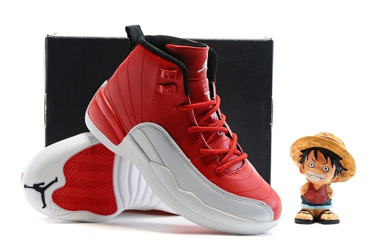 """new arrival c155c 8f294 Best New Release Kids Air Jordan 12 """"Gym Red"""""""