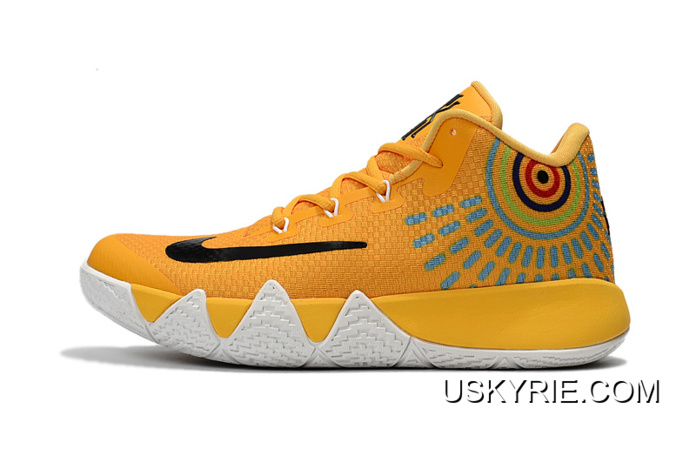 kyrie 4 yellow and black