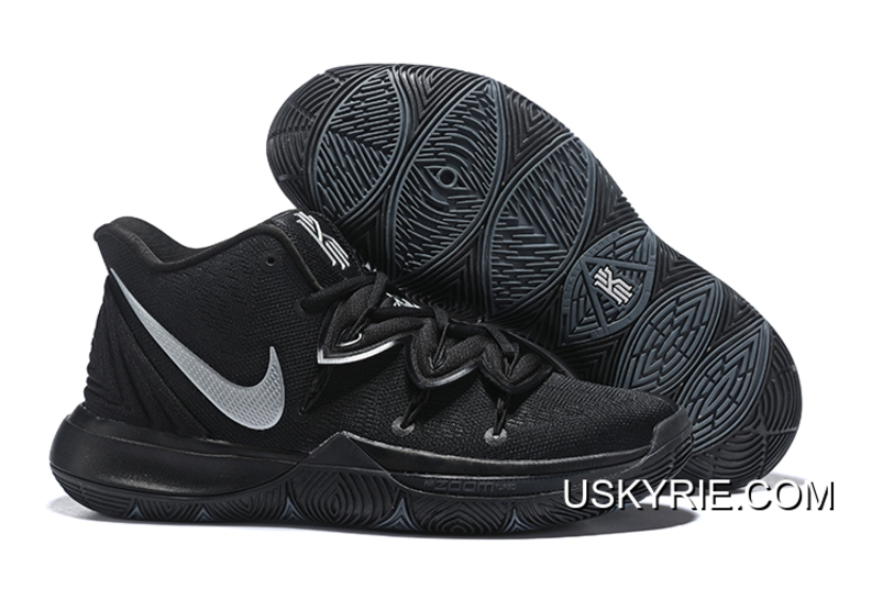 quality design 9918d 38166 New Year Deals Nike Kyrie 5 Black Silver