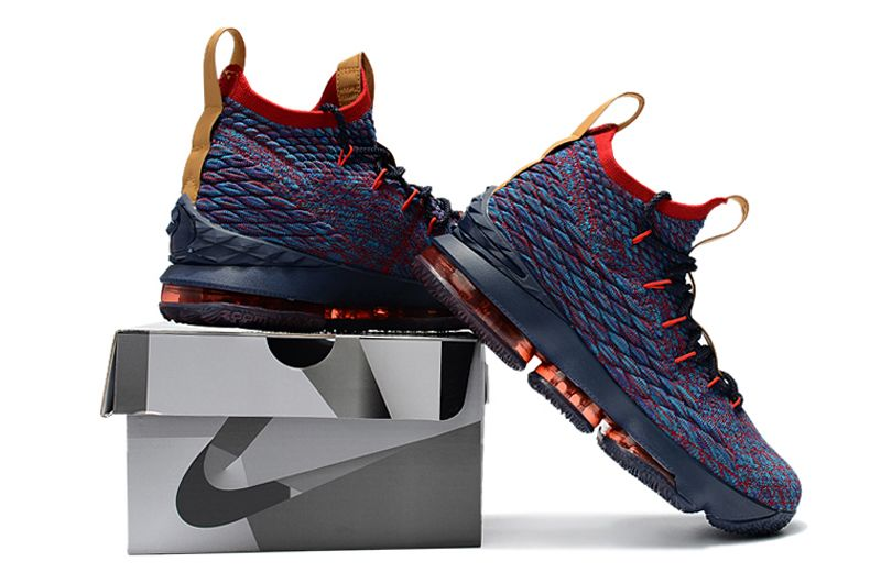 """low priced 82d48 a60bb Online Nike LeBron 15 Cavs """"New Heights"""""""
